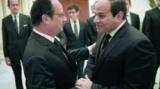 السيسي يؤكد لوفد فرنسا بشأن حادث الطائرة