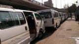 سائقو الأجرة والميكروباص يمتنعون عن العمل بعد رفع سعر البنزين