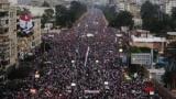 شاهد اغرب لافته فى الشوارع المصريه للاحتفال ب30 يونيو و سخريه كبيره جدا من الجماعه الارهابيه