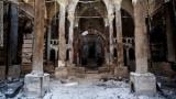كنيسة الأباء الفرنسيسكان بعد ان أحرقت على أيدي الإخوان ..تحتفل بإعادة إعمارها اليوم